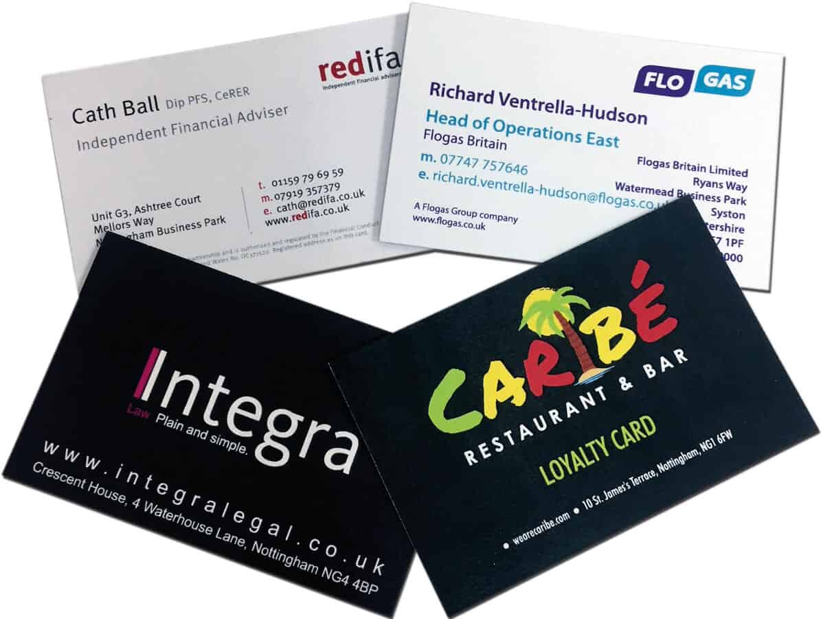 350gsm Uncoated Business Cards (Digital Print) - Temple Printing